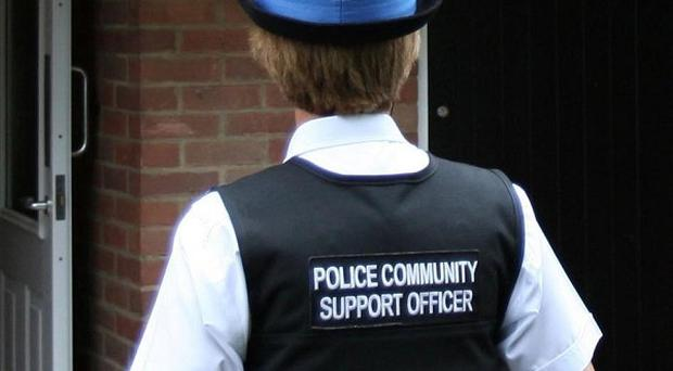 Police Community Support Officers in Hampshire detected just 50 crimes last year, figures showed