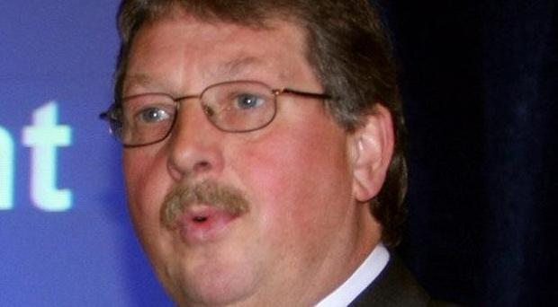 Sammy Wilson will say banks in Northern Ireland must be prepared to lend more for economic recovery
