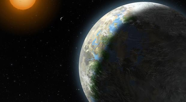 Astronomers have spotted a planet which they believe could harbour life (AP)