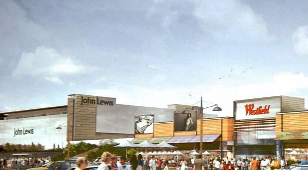 Objections to the planned John Lewis store at Sprucefield are holding up other major applications
