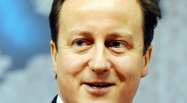 David Cameron has received a boost with a poll suggesting Labour has not gained ground on the Tories