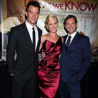 Katherine Heigl was joined by Josh Duhamel and Josh Lucas at the premiere of Life As We Know It