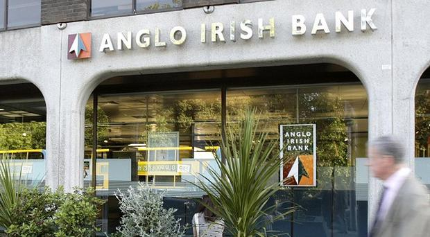 The state bail-out of Anglo Irish Bank is expected to cost taxpayers up to 34 billion euro