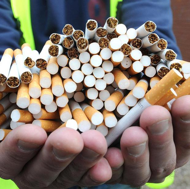 Customs officers have seized 500,000 cigarettes after they swooped on a van in Co Kerry.