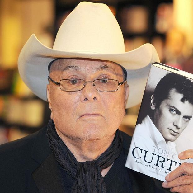 A public funeral has been held for Tony Curtis