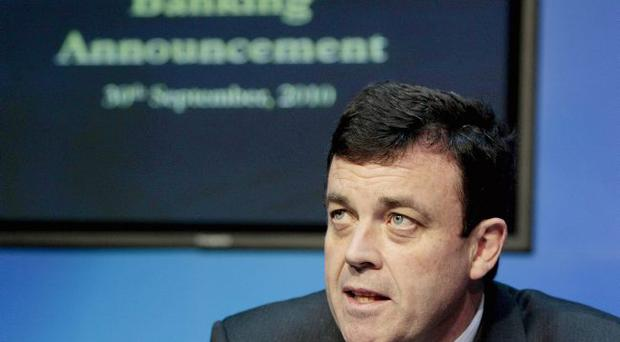 The Republic's Finance Minister Brian Lenihan faces tough choices