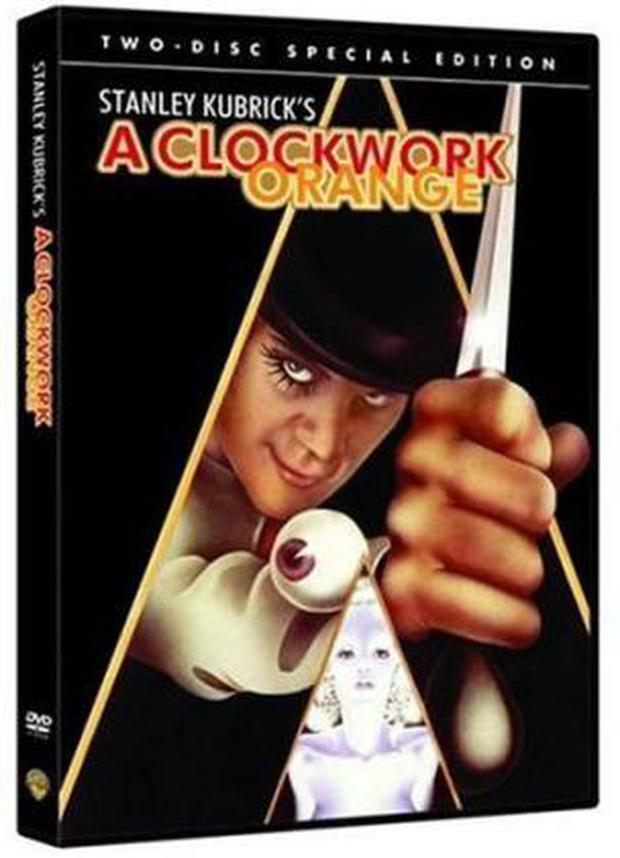<b>A Clockwork Orange (1971)</b><br/> Banned in Ireland 1971-2000, UK - by Stanley Kubrick (1973-1999), Singapore, Malaysia, South Korea and Spain <br/> Adapted from Anthony Burgess's best-selling novel, A Clockwork Orange tells the story of Alex and his gang of violent 'droogs' who kill tramps and rape women. <br/> The film is infamous for copycat behaviour, which many thought to be the reason that director Stanley Kubrick withdrew the film in the UK. After his death, his wife Christiane revealed that the actual reason he had the film banned was on the advice of the police after severe threats were made to him and his family.