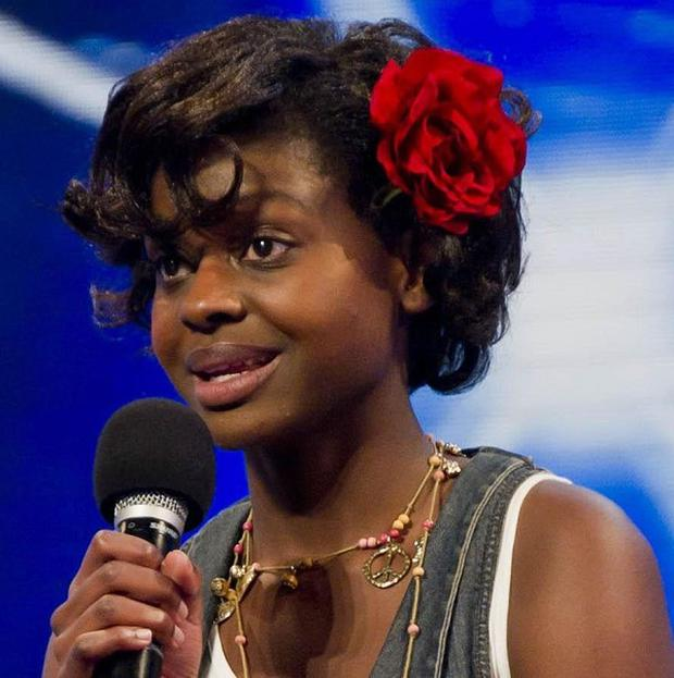 Claims that X Factor reject Gamu Nhengu was kicked off the show because of worries over her immigration status have been rubbished (Ken McKay/ITV)