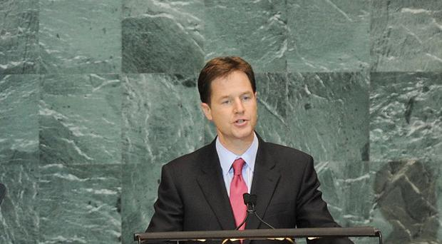 Deputy Prime Minister Nick Clegg has slammed the forthcoming elections in Burma as a sham