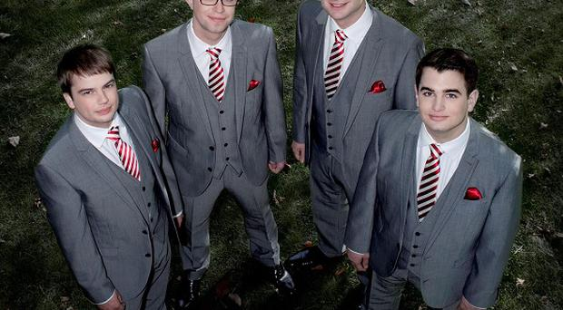 The Great British Barbershop Boys have signed a seven-figure deal with Sony
