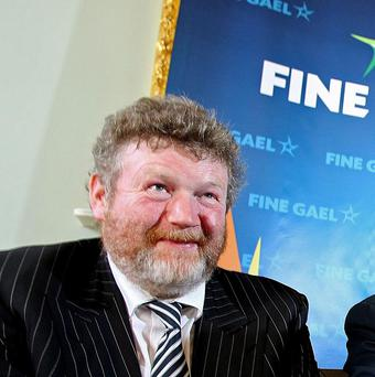 Fine Gael's James Reilly called for waste in the health service to be targeted ahead of front line cuts