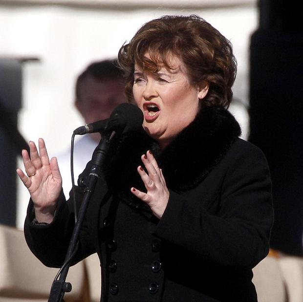 Susan Boyle was unable to perform on DWTS