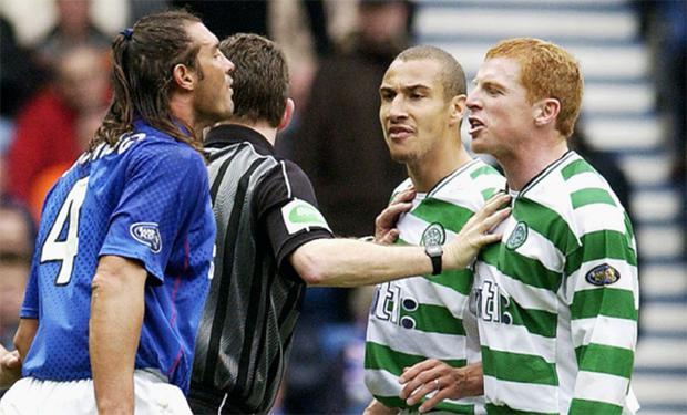 Former Rangers man Lorenzo Amoruso is no stranger to upsetting Northern Ireland folk as this head to head with Neil Lennon shows