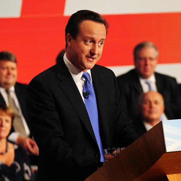 David Cameron has called for the public to pull together over spending cuts