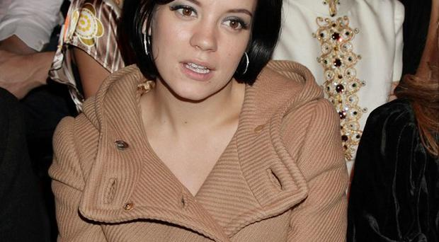Lily Allen has been honoured by the US music industry for her songwriting