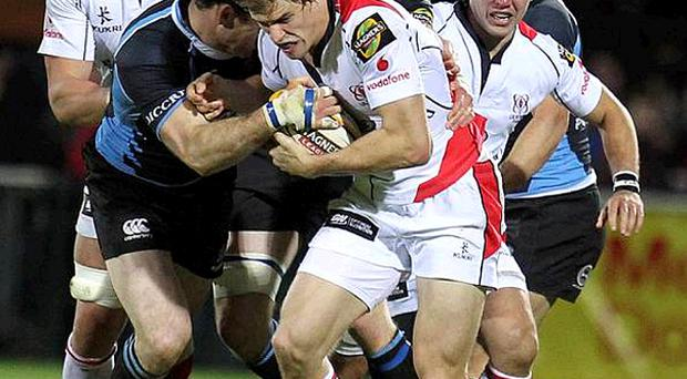 Ulster have shown their intent by naming both Andrew Trimble (pictured) and Ian Humphreys in the side to take on Aironi tonight