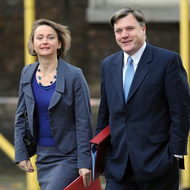 Yvette Cooper and Ed Balls are in Labour's shadow cabinet