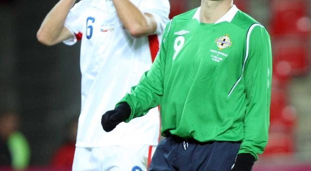 David Healy has endured some frustrating nights for Northern Ireland in recent months