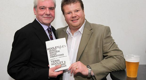 Terri Hooley and Richard Sullivan