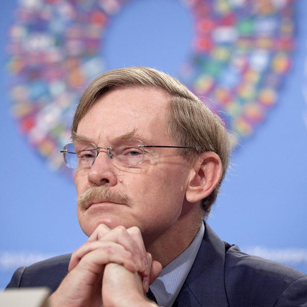 World Bank President Robert Zoellick said that the tensions over currencies could undermine investor confidence (AP)