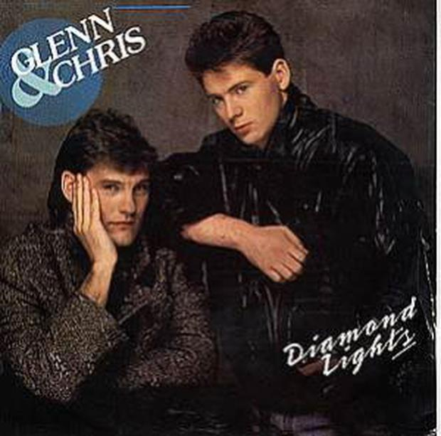 <b>Glenn Hoddle and Chris Waddle</b><br /> They certainly had the haircuts for pop stardom but unfortunately not the voices. Glenn and Chris released 'Diamond Lights' in 1987, and although the music is forgettable, they did provide us with a classic appearance on Top of the Pops