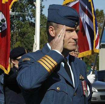 Colonel Russell Williams was the commander of Canada's largest Air Force base before he was charged earlier this year (AP)