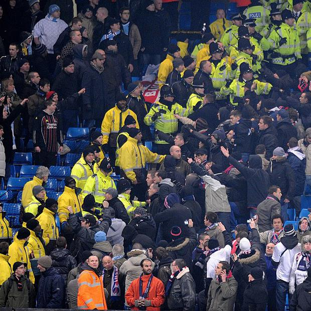 There has been a steep increase in youngsters being banned for taking part in football hooliganism