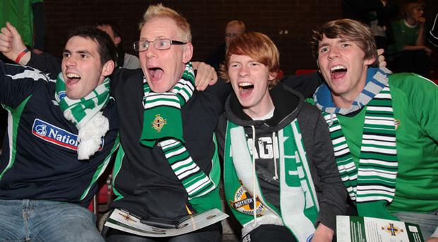 Taylors from Belfast: Stephen, Patton, Duncan and Iain