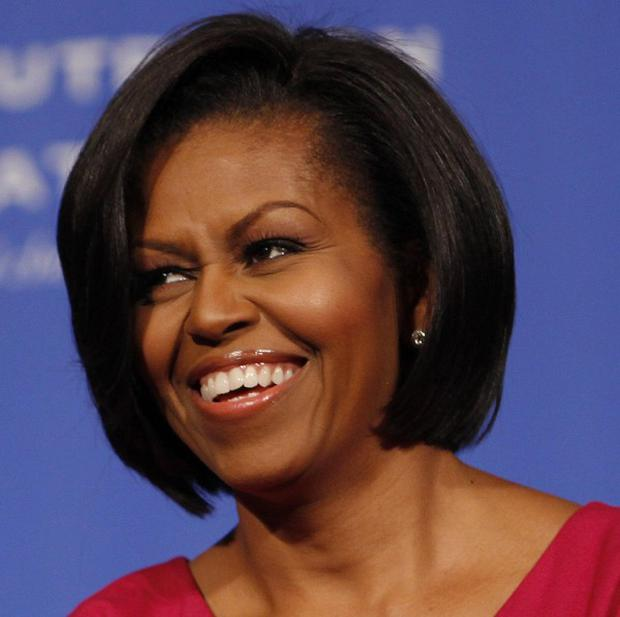 America's first lady Michelle Obama was named the world's most powerful woman (AP)