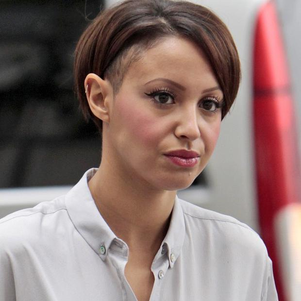 Amelle Berrabah has been banned from driving