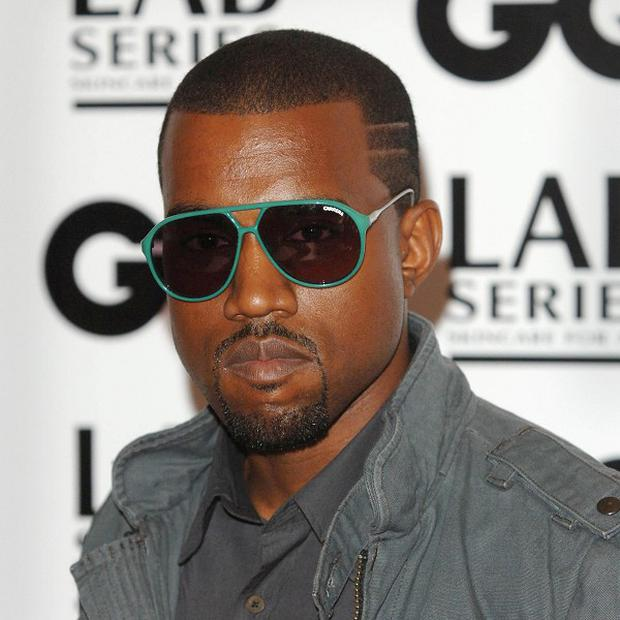 Kanye West launched his first film in London