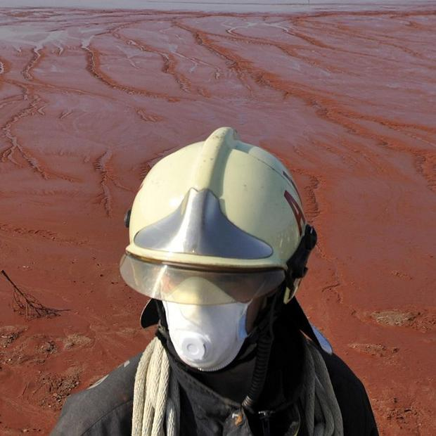 The boss of the company responsible for Hungary's flood of toxic red sludge has been arrested
