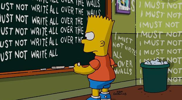 Banksy inspired the latest opening sequence for The Simpsons