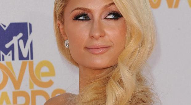 A man has been arrested after a scuffle at Paris Hilton's home