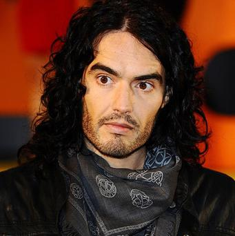 Russell Brand arriving for the European Premiere of Despicable Me