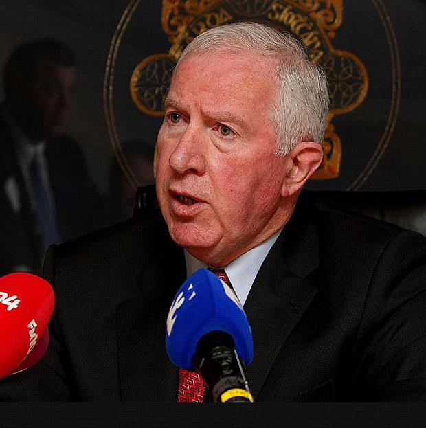 Garda Commissioner Fachtna Murphy said the arms haul found in County Louth was 'significant'