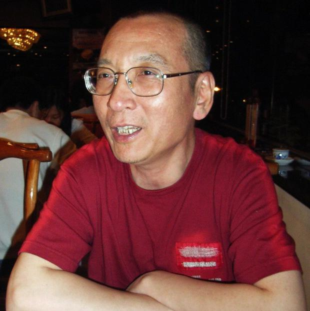 Imprisoned dissident and Nobel Peace Prize winner Liu Xiaobo (Kyodo News)