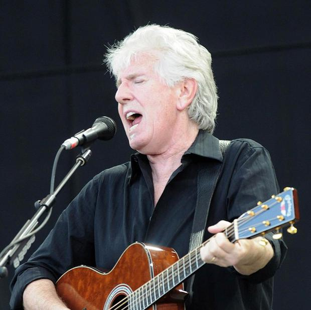 Graham Nash has been honoured with an OBE from the Queen