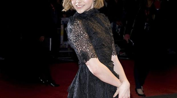 Chloe Grace Moretz arrives at the premiere of Let Me In at the Vue cinema in London