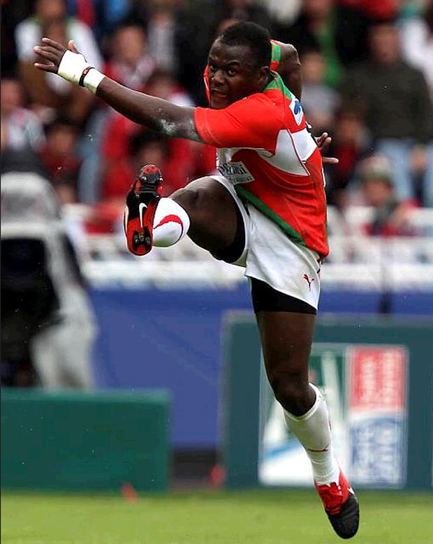 Takudzwa Ngwenya sparked Biarritz into life and they never looked back