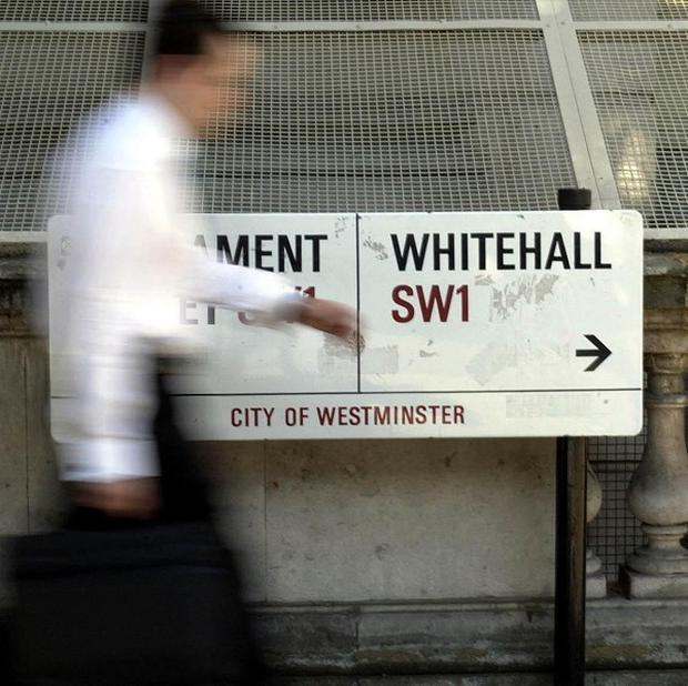 The Government will deliver £6bn of Whitehall cuts, Chancellor George Osborne said