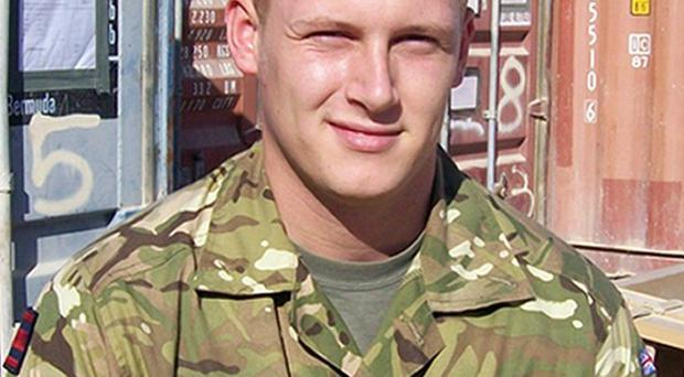 Acting Corporal David Barnsdale of 33 Engineer Regiment died in Afghanistan