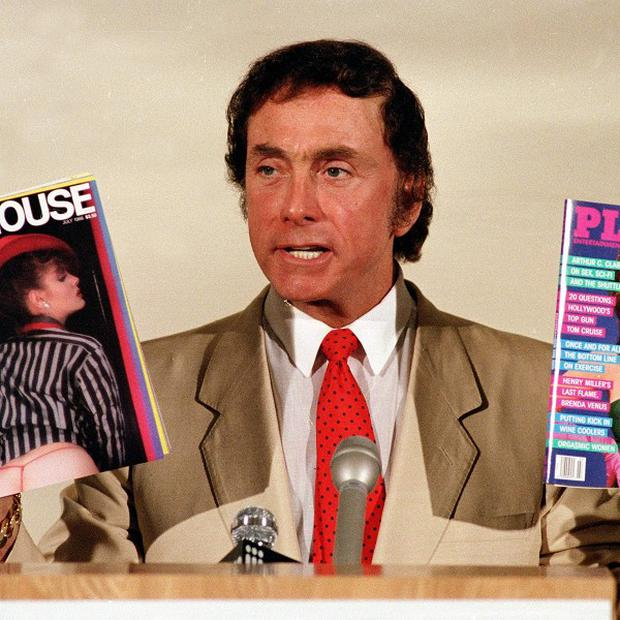 Penthouse publisher and founder Bob Guccione (AP)