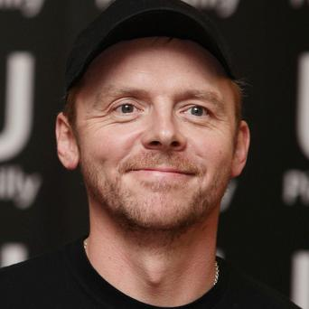 Simon Pegg's dog features in his latest movie
