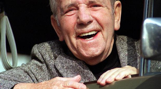 Comedy legend Norman Wisdom will be laid to rest