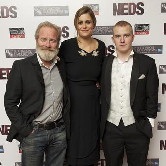 Peter Mullan says winning awards has helped the young cast of Neds grow in confidence