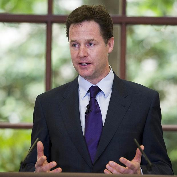Deputy Prime Minister Nick Clegg has hit out at criticism of the spending cuts