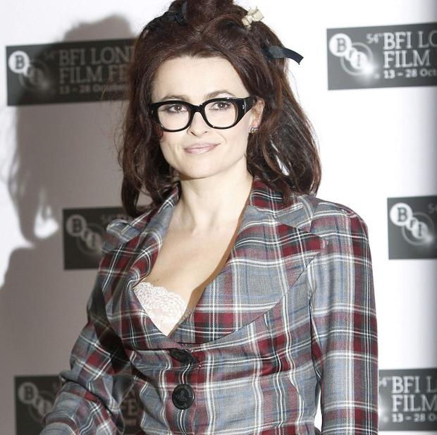 Helena Bonham Carter filmed Harry Potter and The King's Speech at the same time