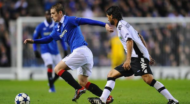 Steven Davis was instrumental in Rangers' excellent Champions League draw with Valenica at Ibrox on Wednesday night