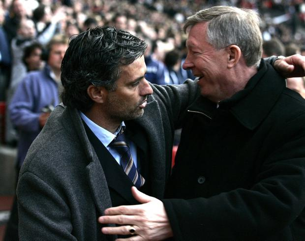 Former Manchester United manager Alex Ferguson says Jose Mourinho is 'a great example'